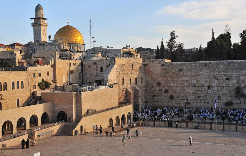 By: Jonathan / www.picasa.com License: Creative Commons License (By ND 3.0) Tags: Jerusalem Temple Mount Western Wailing Wall Dome of the Rock historical religious sights sites